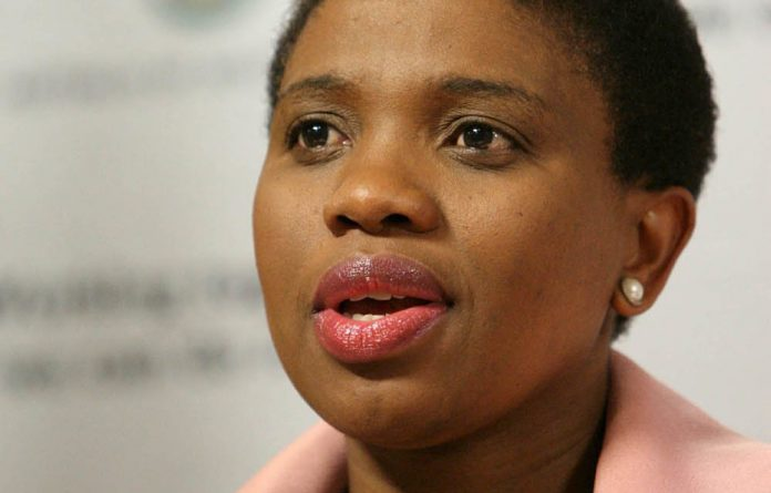 Nomgcobo Jiba refused to release the spy tapes to the Democratic Alliance.