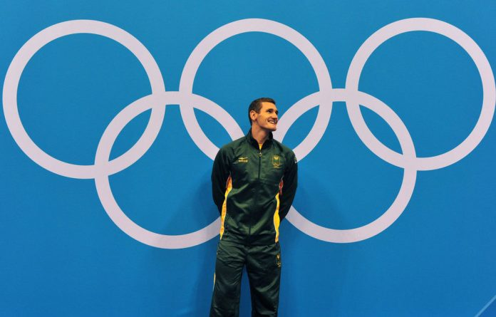 Cameron van der Burgh represented South Africa at the 2012 Olympics.