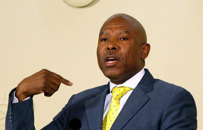 The governor of the Reserve Bank