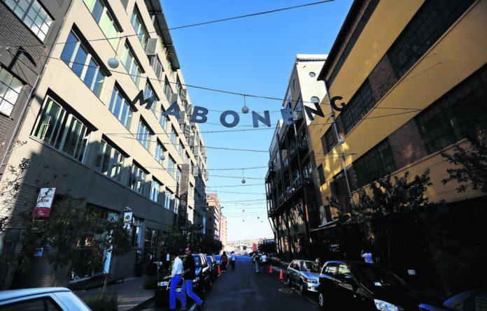 The Maboneng precinct is an emblem of Johannesburg CBD's revitalisation.