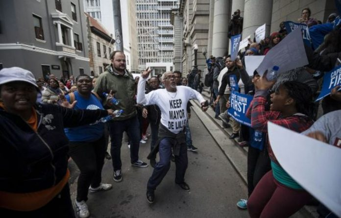 The Democratic Alliance is losing supporters
