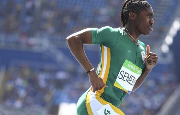 Caster Semenya is excited to be running at the Olympics and 'still has a significant career ahead of her'.