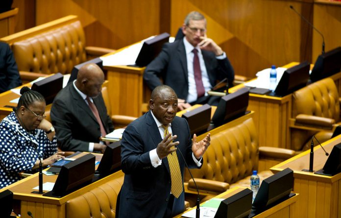 DA leader Mmusi Maimane told Ramaphosa that his 'government was warned about these consequences. We knew upfront that this would result in job losses.'