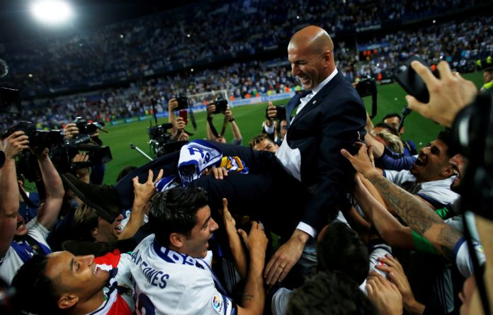 The legend of Zidane continues to grow.