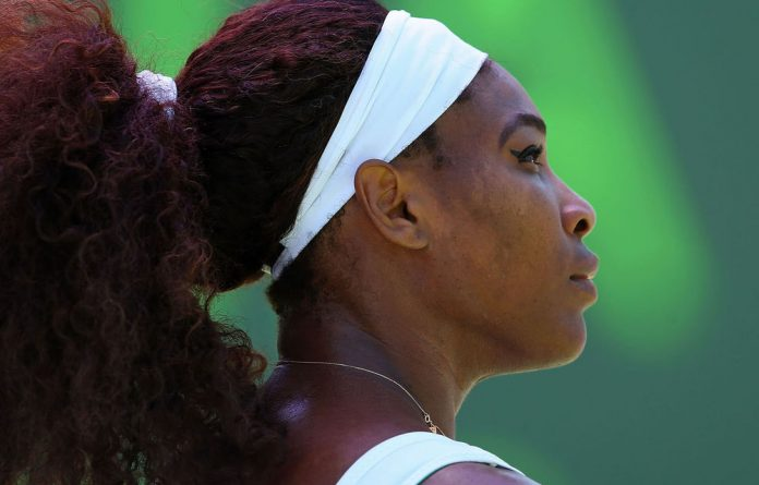 World number one Serena Williams.
