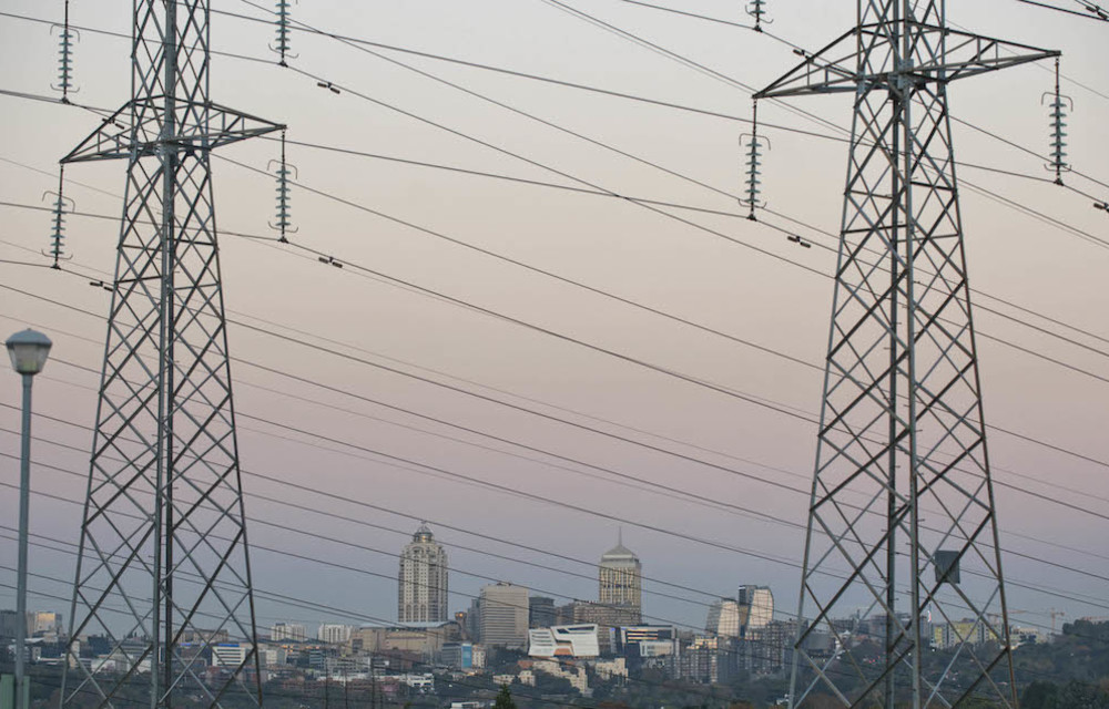 Grid technology: Cities like Johannesburg are conventionally powered