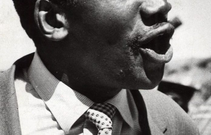 Struggle hero Robert Sobukwe.