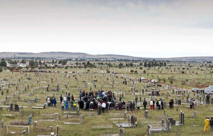 Avalon Cemetery in Soweto