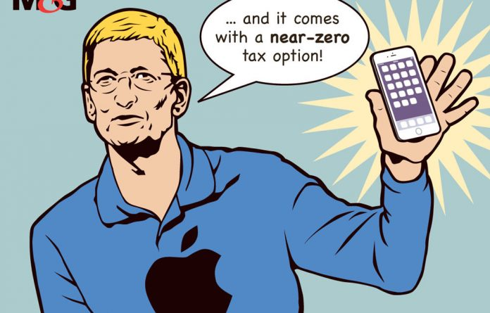 Lobbyists for tax justice have started using the hashtag #iPhone7boycott.