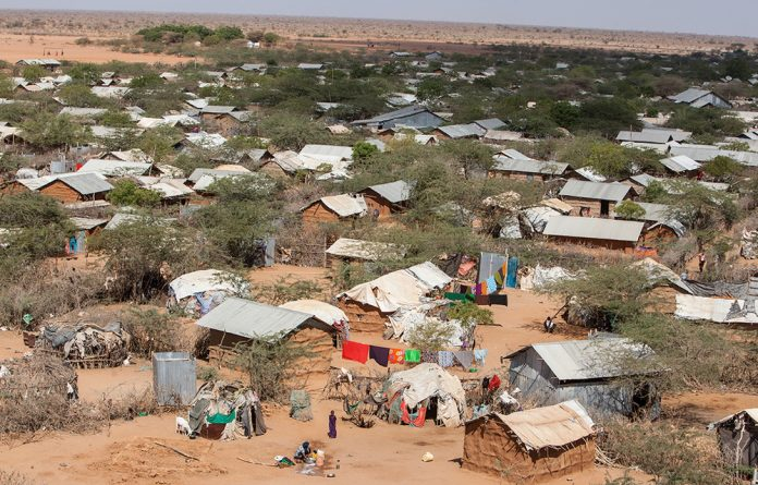 A section of Dadaab refugee camp on March 8