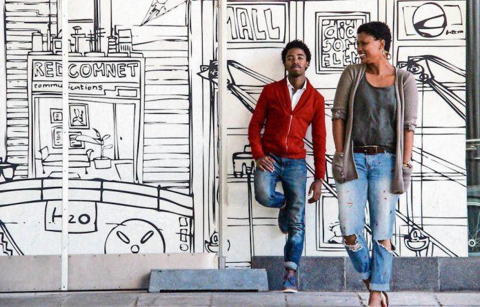 Siyabona Wilson and Lungiswa Joe of the art and design collective uGrand Blaque.