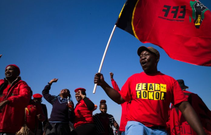 Out of the nine EFF councillors in the Mogale City municipality
