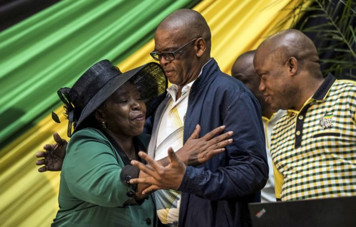 Split: The Free State is divided between Cyril Ramaphosa backers and Nkosazana Dlamini-Zuma's