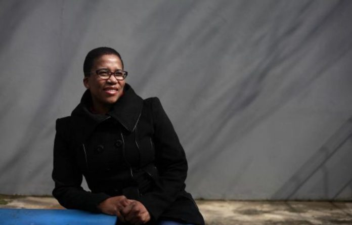 'I was very scared at first but Balungile's attitude towards this disease gave me strength.'