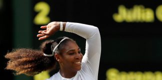 Seven-time champion Serena Williams reached the Wimbledon final for the 10th time on Thursday.