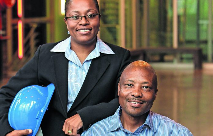 Puleng and Greg Tubane of NRP Properties & Contractors