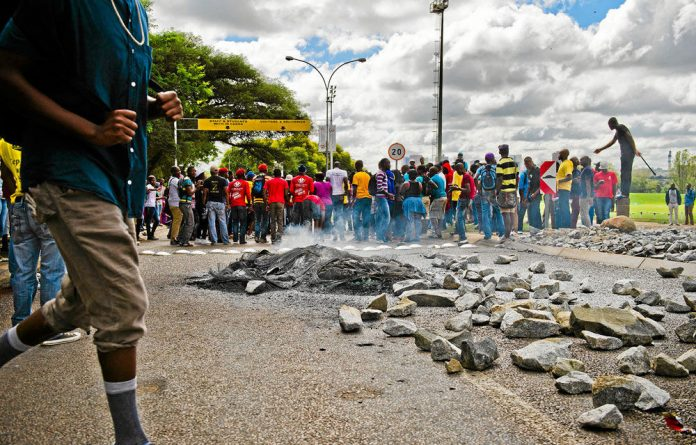 Recent protests at the Tshwane University of Technology
