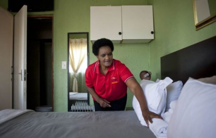 Boost: Florence Mondi owns Flossies BnB in Pimville
