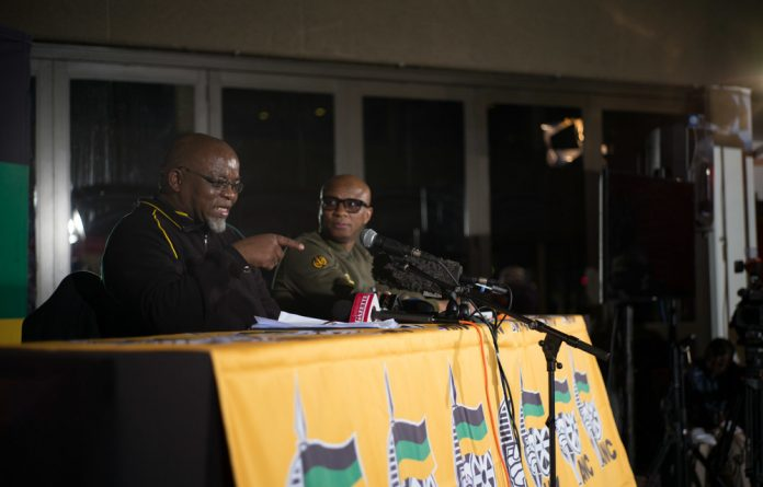 Gwede Mantashe also impressed on the audience to keep their ward councillors accountable.