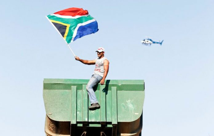 South Africa is far from being the non-racial
