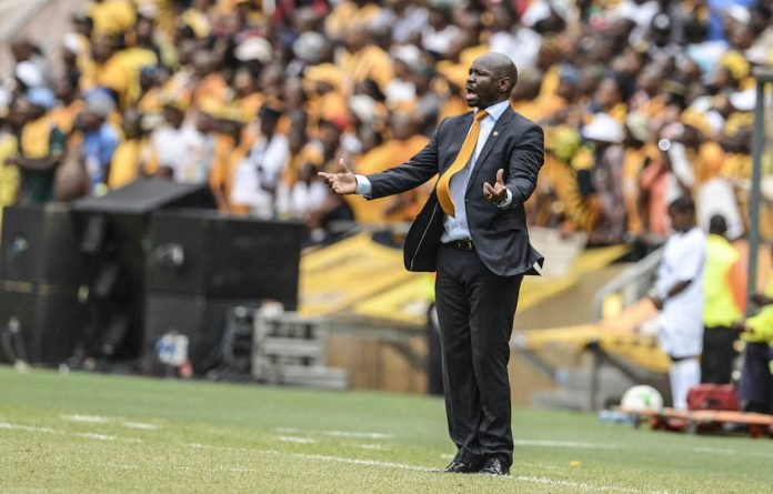 Knockout blow: Steve Khompela knows the Chiefs fans expect victory.