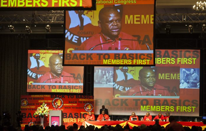 NUM national congress.