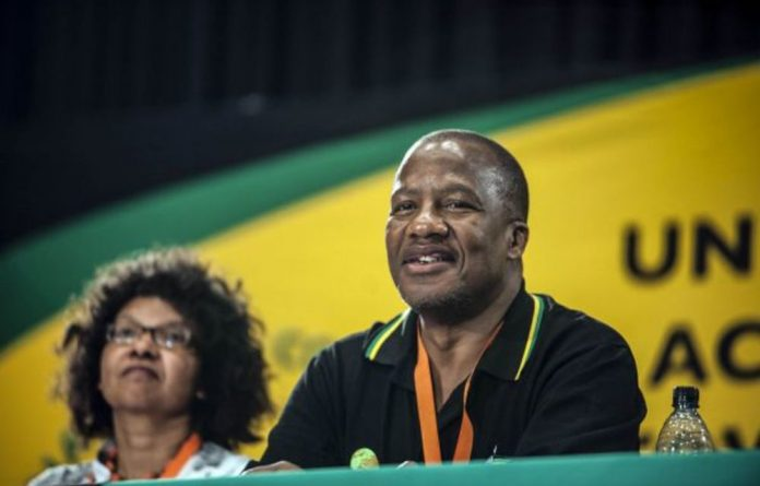 Jackson Mthembu is coming to terms with how broken the ANC is as an alternative family structure. Madelene Cronje/M&G)
