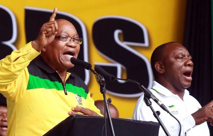 President Jacob Zuma thanked supporters of the ANC at its 101st anniversary celebrations.