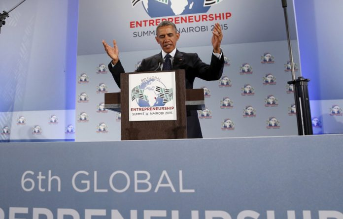 Obama pushed entrepreneurship to the top of the US' global engagement agenda