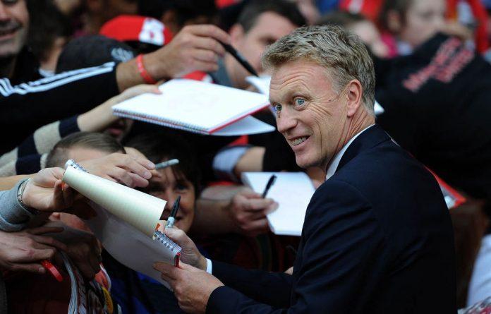 Man United's new manager David Moyes.