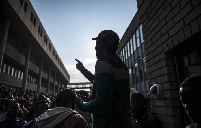 Police efforts to clamp down on #FeesMustFall protests intensified this week.