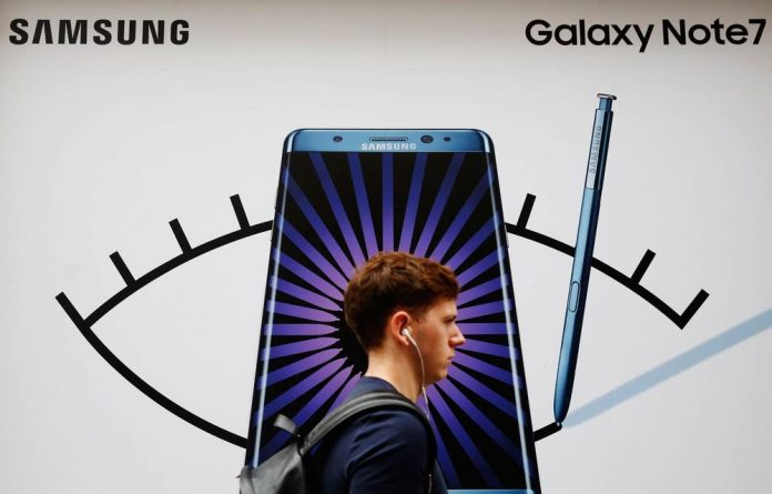 The company originally introduced the Note 7 in August and then recalled the initial shipment of 2.5 million phones after a spate of battery fires.