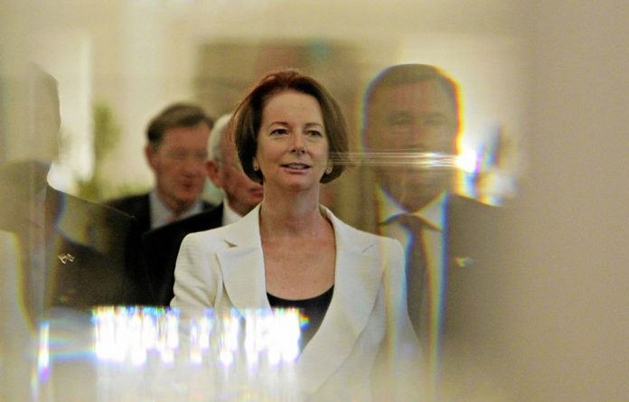 Brutal axing: Australia's former prime minister Julia Gillard was deposed as leader of the Labor Party this week