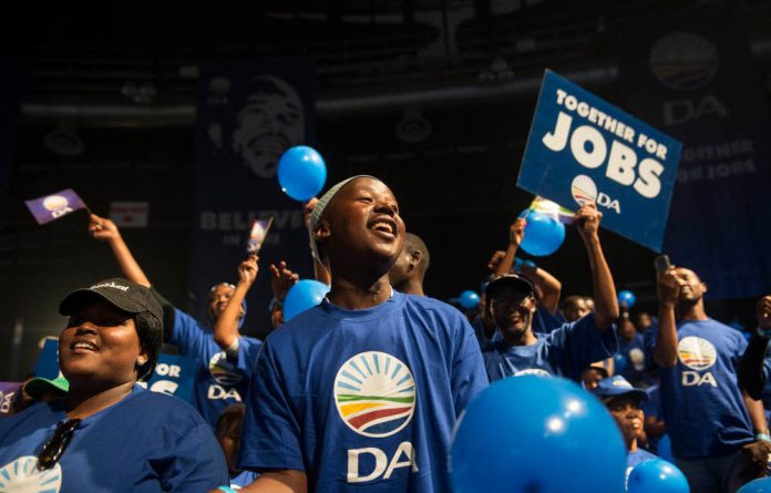 A Democratic Alliance rally.