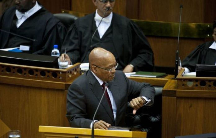 President Jacob Zuma is said to have shunned the advice of allies who have pleaded with him to jump before he's pushed