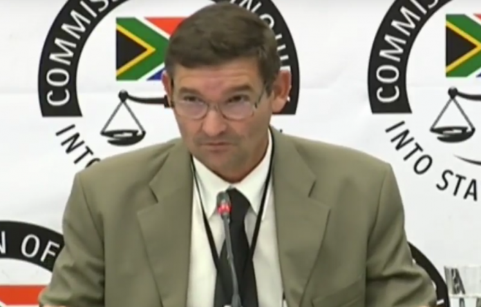 Bosasa employee Richard le Roux told the commission that he rarely watched the footage before deleting it. But on one occasion in 2015 he decided to take a look at the footage.