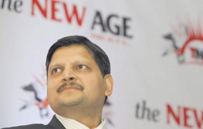 'New Age' managing editor Atul Gupta.