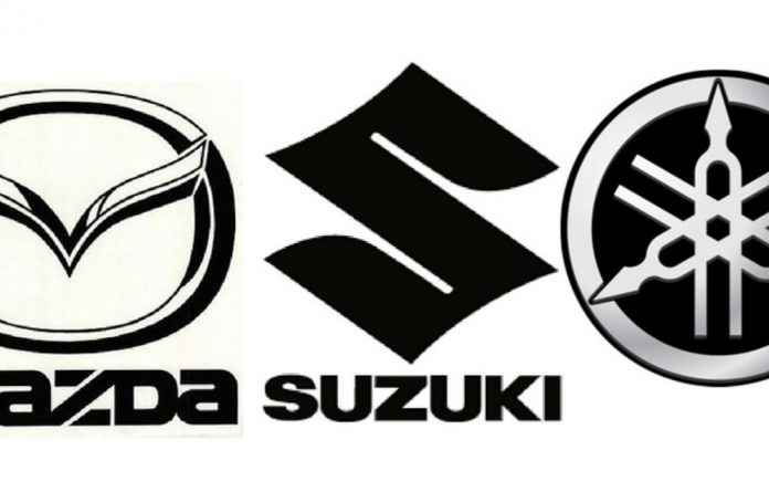 Suzuki tumbled 6.04% to ¥6 944
