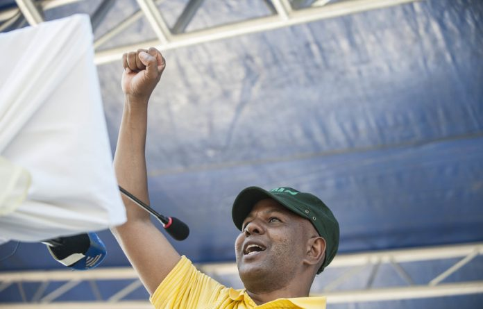Amcu leader Joseph Mathunjwa has been accused by union employees of making unilateral decisions.
