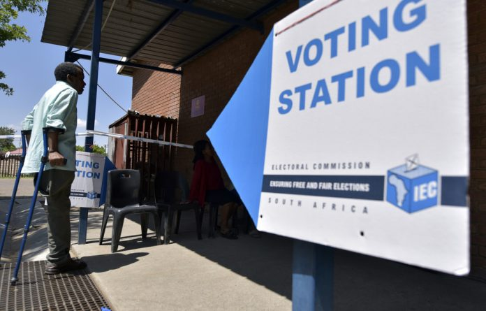 Metsimaholo Municipality members voting for the by-elections on November 29