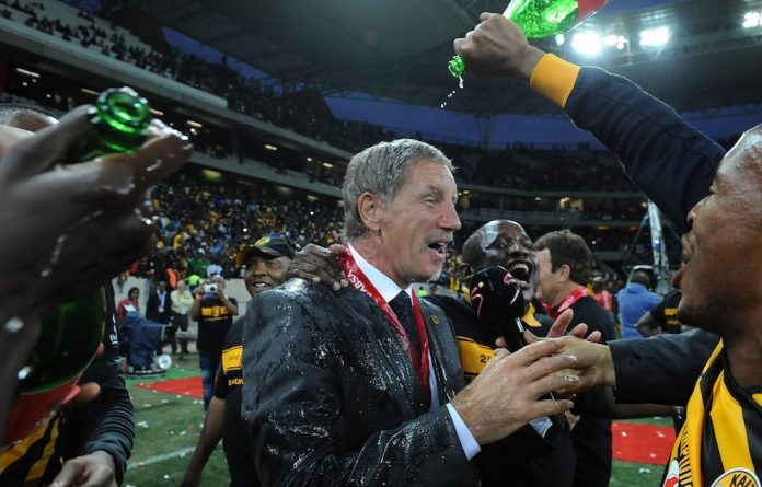 Locked in: Stuart Baxter's bosses at SuperSport United have premiership ambitions and are said to be reluctant to release him to become the national team's coach. Photo: Duif du Toit/Gallo Images