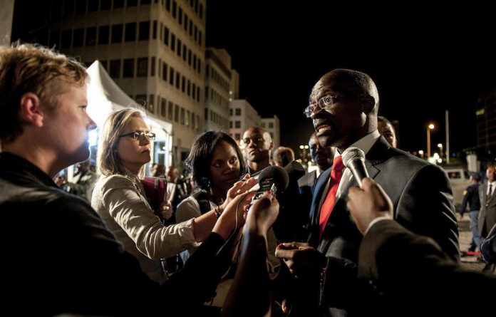 Less is more: Malusi Gigaba has distanced himself from Chris Malikane's comments