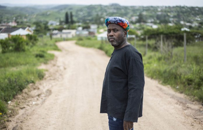 Beginnings: Sandile Ngidi's journey to becoming a translator was ignited by his efforts to write about a brutal attempt on his life during the turbulent 1980s Photo: Rogan Ward