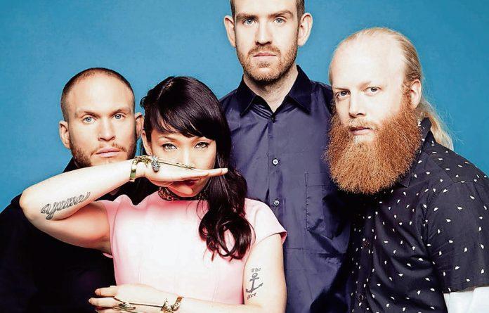 Swedish electric soul band Little Dragon.