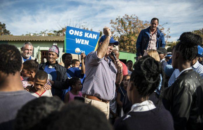 The Democratic Alliance separate international migrants into worthy and unworthy people