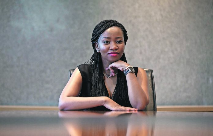 Nontando Molefe has international hopes for her jewellery designs. After studying jewellery design