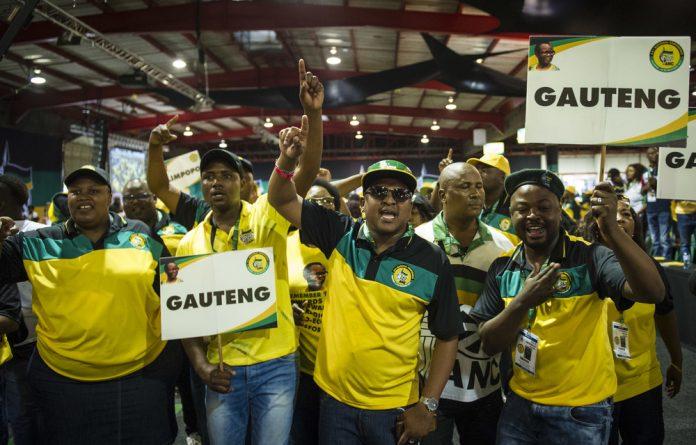 ANC Gauteng branch.