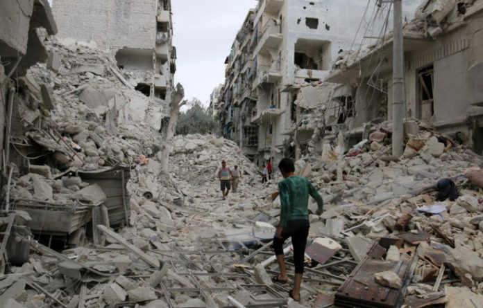 Russian and Syrian warplanes have launched their biggest offensive on Aleppo's besieged rebel-held sectors after efforts to reach a ceasefire collapsed in September.