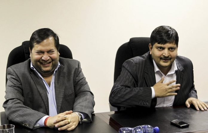 Ajay and Atul Gupta used banks to launder their money