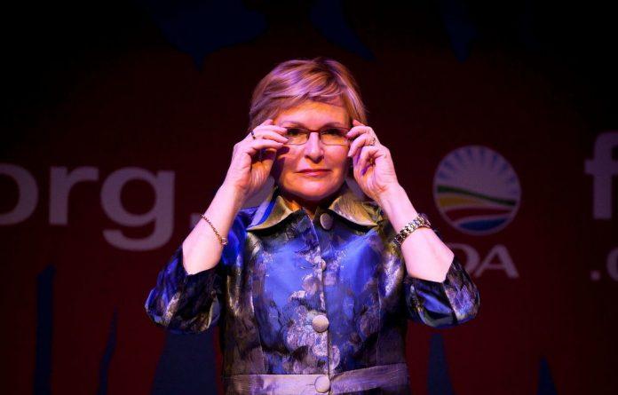 Western Cape premier Helen Zille.